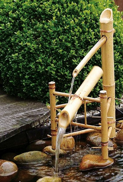 ubbink wasserschaukel bambus wasserspiel id 124320 ebay. Black Bedroom Furniture Sets. Home Design Ideas