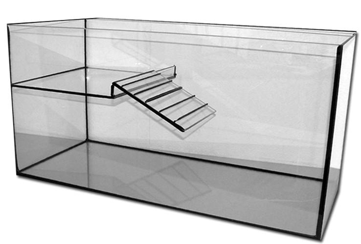 wasserschildkr ten becken 160 l 100x40x40 cm mit landteil. Black Bedroom Furniture Sets. Home Design Ideas