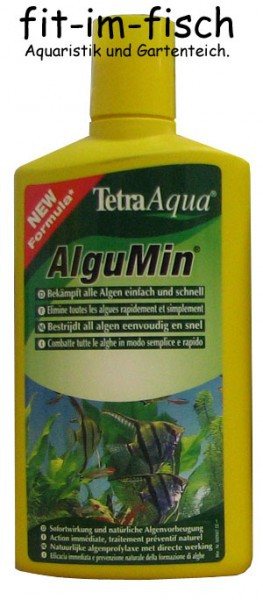 tetra algumin 500 ml gegen algen im aquarium pflege aquaristik welt zubeh r aquaristik wasserpflege. Black Bedroom Furniture Sets. Home Design Ideas
